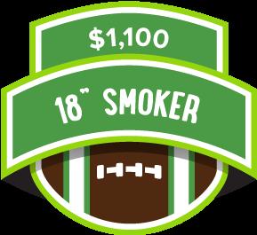 $1100 18in Smoker