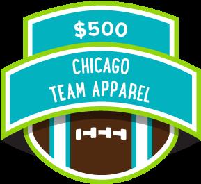 $500 Chicago Team Apparel
