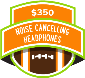 $350 Noise Cancelling Headphones