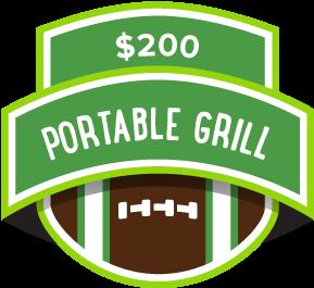 $200 Portable Grill